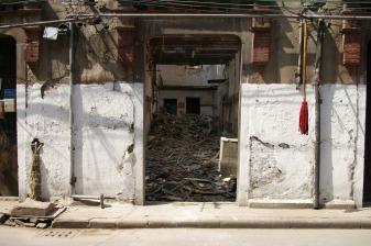 Demolishing Shanghai's Old City, Spring 2006