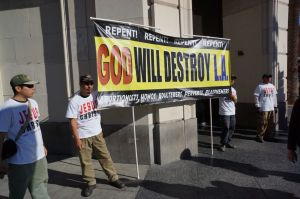 """God Will Destroy L.A."""
