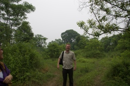 Standing in the center of what was once Gao Village.