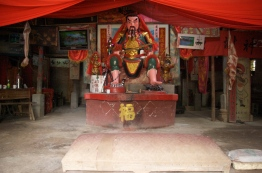 The god of the temple.