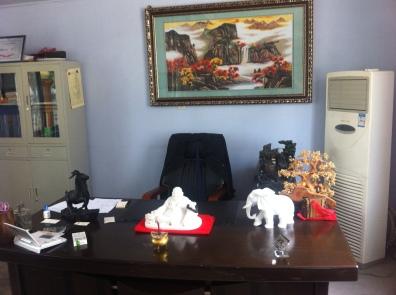 """""""Desk of power"""""""