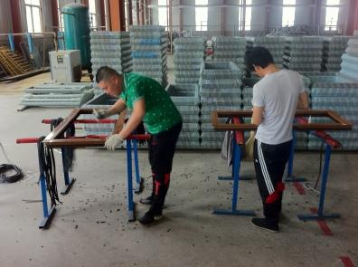 Assembling frames