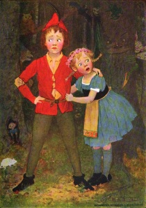 """'I Am Afraid!' Said Gretel, 'How Full of Ghosts the Wood Seems!'"""