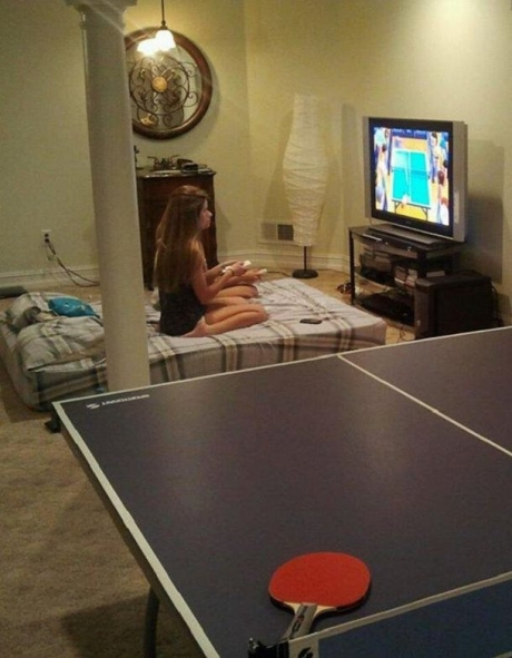 """Not Playing Ping Pong. Playing Ping Pong."""