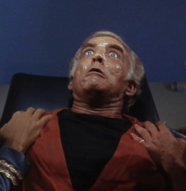 "Dr. Simon Van Gelder in ""Dagger of the Mind"" Star Trek (1966)."