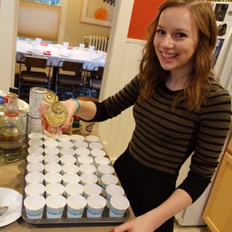 Catherine Prepares the Apéritifs