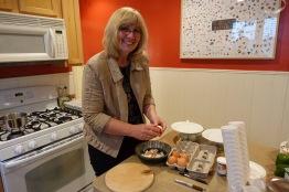 Amy Preparing the Eggs