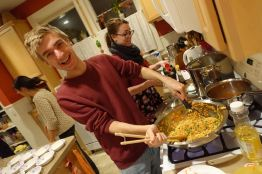 Jonathan and Eleena Love to Stir Fry