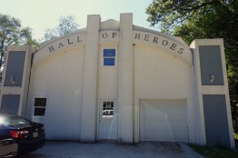 Exterior of the Hall of Heroes
