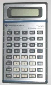 High School TI-35 (1980s)